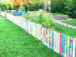 pallet fence diy pallet fence small garden fence ideas garden small fences best garden fences wonderful