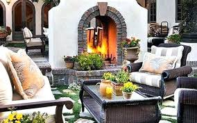 double sided outdoor fireplace two faced design for patio kits wood