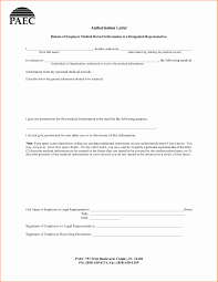 Best Of Authorization Letter To Release Medical Information Letter