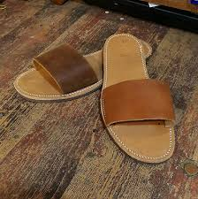 Comfortfusse Shoes Size Chart Handmade Leather Sandals Brown Natural Greek Production