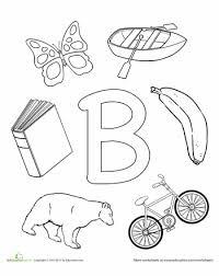 9c7b71252d39b6b3b1e703c597981578 b is for coloring, letter b and preschool worksheets on e sound worksheet
