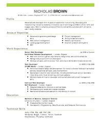 Generic Resume Resumes Summary Cv Template Uk Pdfeneral Practitioner