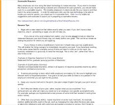 Examples Of Objective Statements On A Resume Objective Statement On A Resume Resume Mission Statement