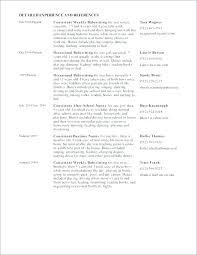 Professional Nanny Resume Sample Sample Resume Of It Professional Arzamas