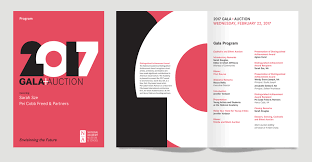 How To Create An Event Program Booklet National Academy Museum And School Gala Invitation Branding