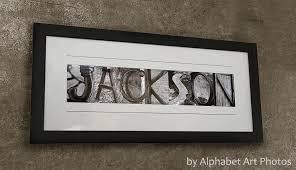 custom family name wall art