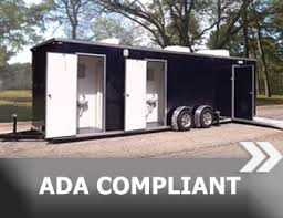 bathroom trailers. Portable Restroom Trailers, LLC Is The ONLY Company That Provides You A Selection Of Restrooms From More Than 7 Manufacturers! Bathroom Trailers