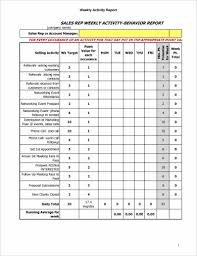 15 Weekly Activity Report Examples Pdf Word Examples