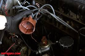 project fj40 cruiser ignition system upgrade off road com next was removing rotor from distributor leave spark plug wires connected to the distributor cap
