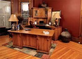 deluxe wooden home office. Stylish Hardwood Office Furniture Bentley Deluxe Executive Desk With Corner Work Station From Wooden Home