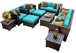 Outdoor furniture set 20 Piece Bermuda Outdoor Wicker 12piece Patio Set Tropical Patio Furniture And Outdoor Furniture By Design Furnishings Houzz Bermuda Outdoor Wicker 12piece Patio Set Tropical Patio