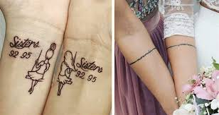Top 27 Nádherných Společných Tetování Pro Ségry Nebo Nejlepší