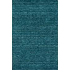 8 x 10 large cobalt blue area rug rafia
