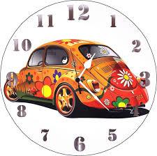 Small Picture Buy Designer Wall Clock Beetle Car Motiff Large Art Wall Clock