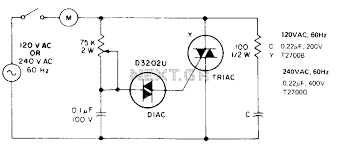 ac motor speed controller readingrat net 2 Sd Single Phase Ac Motor Wiring Diagram single phase induction motor wiring solidfonts, circuit diagram Single Phase Capacitor Motor Wiring Diagrams