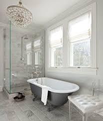 bathroom rain shower ideas. Anne Decker Architects - Bathrooms Corner Shower, Shower Ideas, Rain Head, Marble Surround, Charcoal Gray Bathtub, Cl. Bathroom Ideas