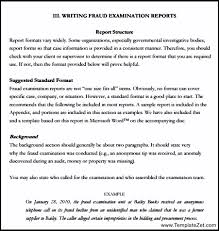 Report Writing Format for Students   TemplateZet TemplateZet Report Writing Format for Students