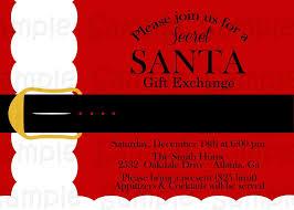 office secret santa invitation bdcbbaf luxury secret santa invitation template