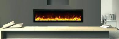 thin electric fireplace cfm ef28 slimline