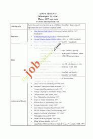 Template Cover Letter Resume Template For Students With No