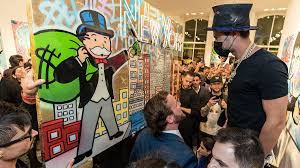New York street artist <b>Alec Monopoly</b> cashes in on success ...