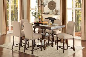 round table elk grove decorations inspiring of splendid benwick dark cherry counter height dining room 5pc