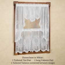 Valance Kitchen Curtains Kitchen Curtains Window Treatments Touch Of Class