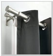 homebase curtain rails stkittsvilla com source double curtain pole metal curtain rod white ceiling fix curtain