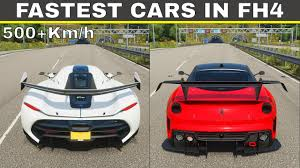 So like the reality which bugatti and mclaren are fastest car brands in the world , in this game buggati chirron and mclaren senna are first cars too and then you can go for racing in forza games isn't fun. Top 10 Fastest Cars In Forza Horizon 4 In 2021 Youtube