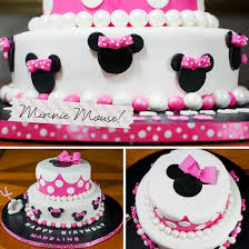 cake decorating projects minnie mouse
