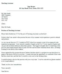 Outstanding Cover Letter Example Cover Letter Special Education Assistant Special Education Cover