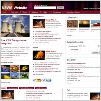 Newspaper Html Template News Templates Html And Css Free Website Templates For Free Download