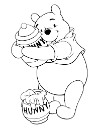 Small Picture Coloring Page Winnie The Pooh Coloring Pages 79 Coloring Home