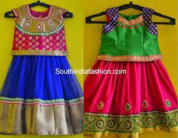 Full Blouse Designs For Children S 10 Pretty Kids Lehenga Designs Kids Blouse Designs Cute