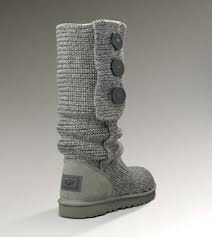 UGG Classic Cardy Boots 5819 Black For Sale In UGG Outlet -  105.64