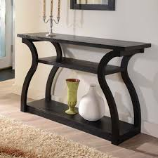 decorating modern living with modern console table  home