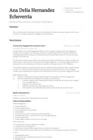 Medical Receptionist Resume samples
