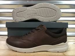 ecco irving casual sneakers leather mink brown tan sz 511624 01014