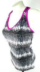 Gerry Womens Size S Small Black Pink Tankini Swimwear Top