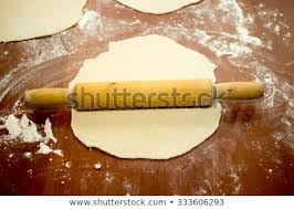 Dough Pizza Pin Rolling Cooking Food Stock Photo Edit Now