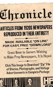 Newspaper Fonts Hplhs The H P Lovecraft Historical Society