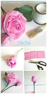 Paper Flower Tissue Paper Diy Tissue Paper Flowers Tutorial Hallstrom Home