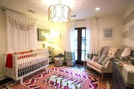 area rug for nursery white rugs baby room girl blush with plan 10