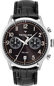 <b>Часы</b> наручные мужские Trussardi T-Evolution Gent, цвет: черный ...