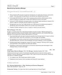 manufacturing resume sample manufacturing manager free resume samples blue sky resumes
