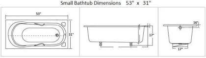 Advantages of Small Bathtub Dimensions
