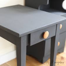 how to paint wood furniture without
