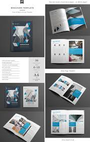 6 Page Brochure Template Free Download 002 Creative Indesign