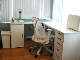 corner office desk ikea. Office Desks Ikea Monitor Riser Large Size Of Desk With Drawers Stand Dividers . Corner