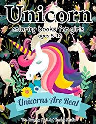 unicorn coloring books for s ages 8 12 unicorn coloring book for s